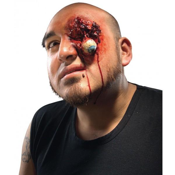 prothèse halloween oeil arraché