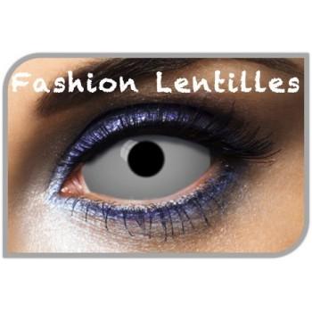 lentilles sclérales grises