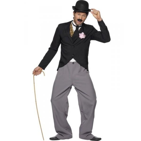 thème soirée déguisé déguisement charlie chaplin
