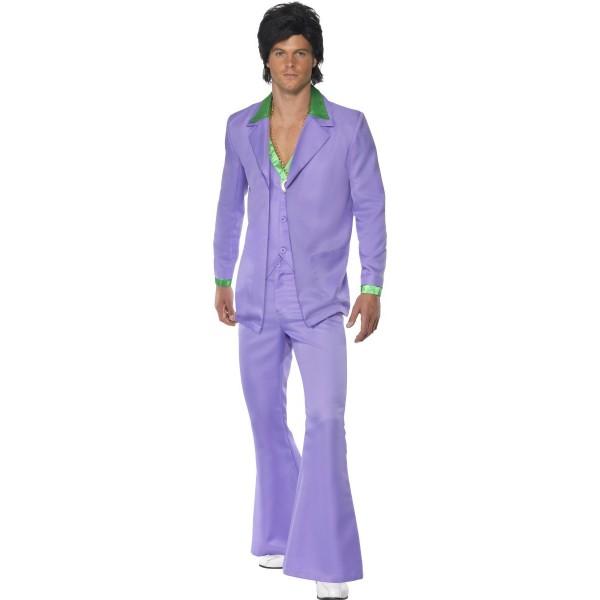 thème soirée déguisé déguisement disco violet