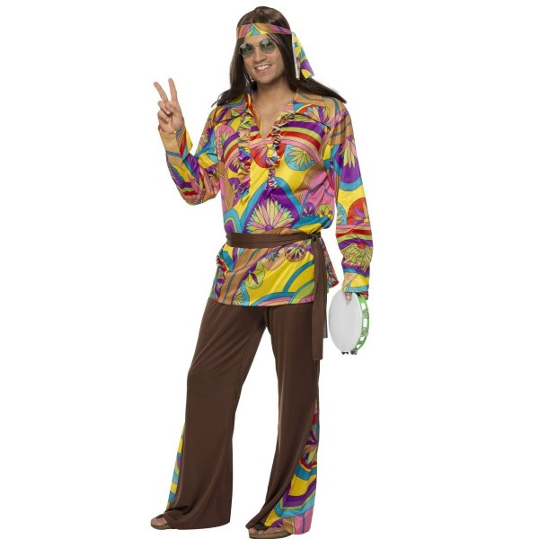 hippie rétro homme