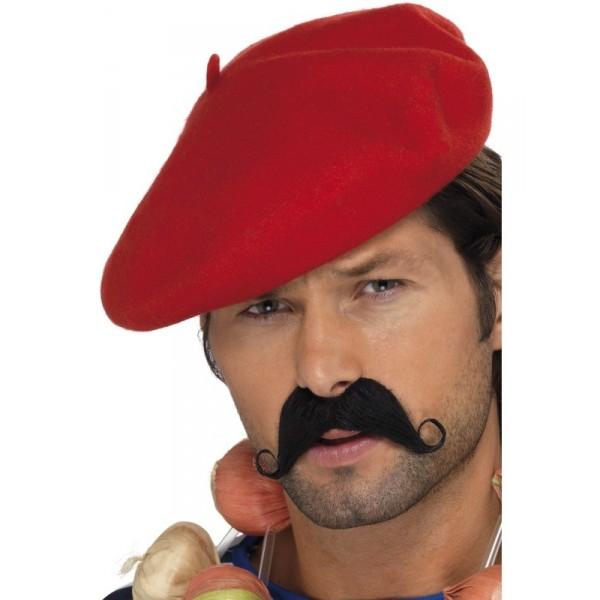 béret rouge adulte déguisement français
