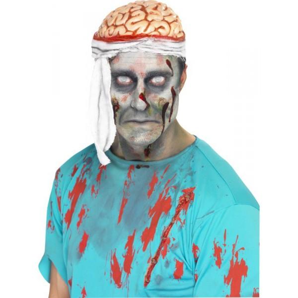 chapeau cervelle halloween zombie