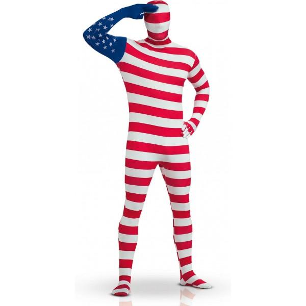 déguisement adulte seconde peau USA Amérique