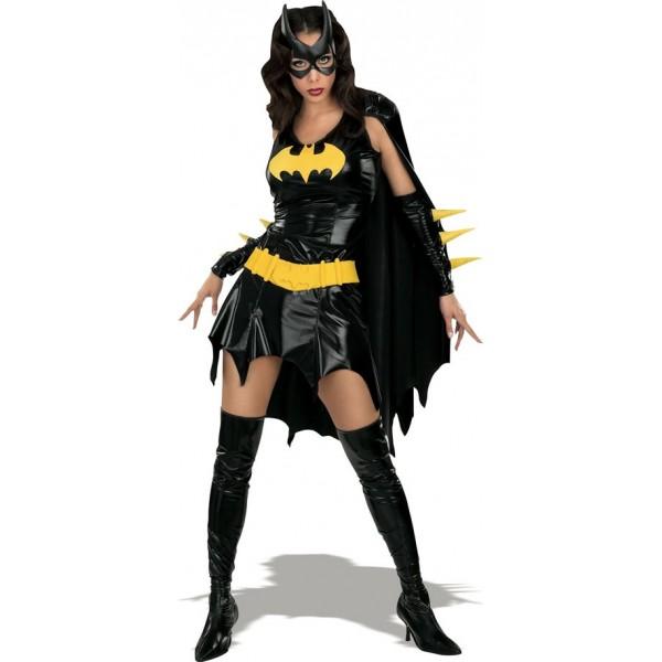 déguisement batgirl soirée déguisée super héros