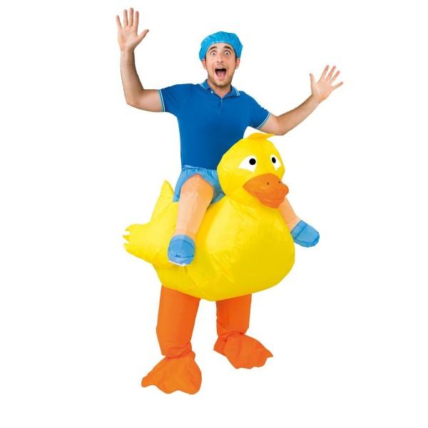 déguisement thème soirée déguisée drole canard gonflable