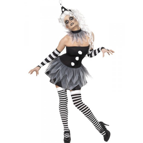 déguisement clown halloween femme