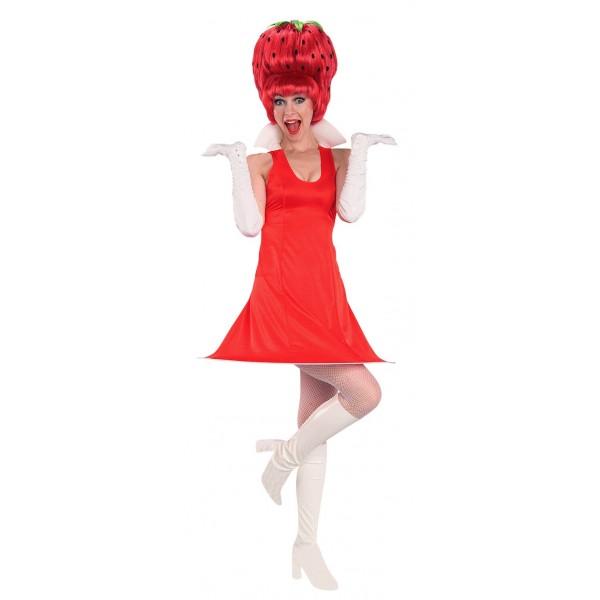 déguisement fraise pour soirée déguisée drole