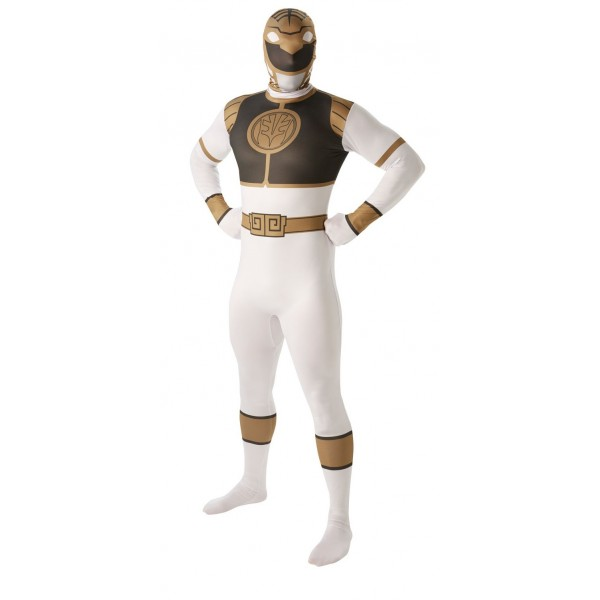 power ranger blanc soirée déguisée super héros