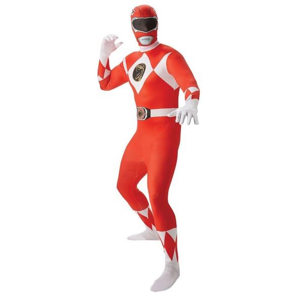 power ranger rouge soirée déguisée super héros