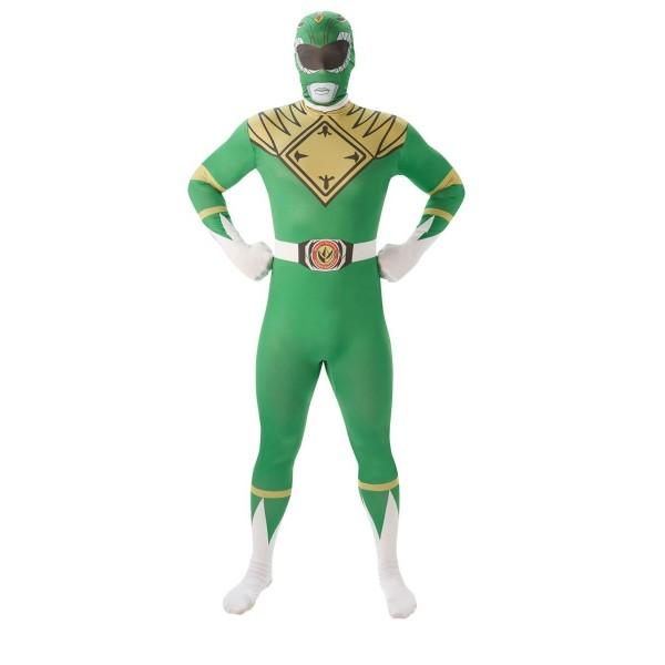 power ranger vert soirée déguisée super héros