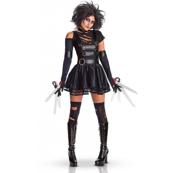 déguisement femme edward aux mains d'argent halloween