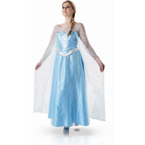 déguisement elsa la reine des neiges thème de soirée déguisée