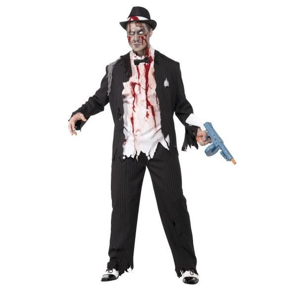gangster déguisement halloween zombie