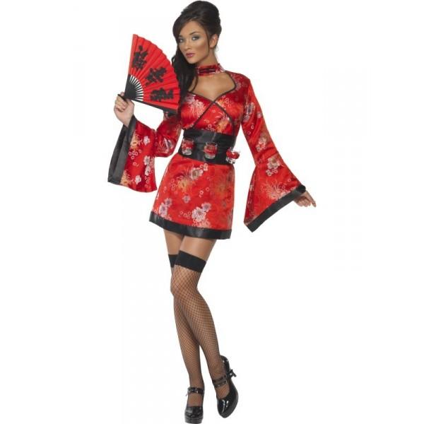déguisement lady geisha sexy femme