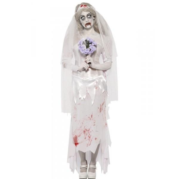 mariée déguisement halloween zombie
