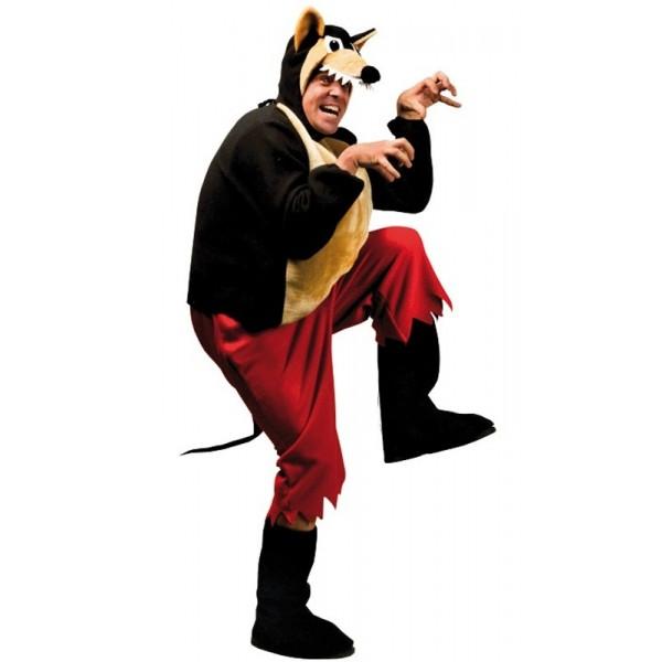 déguisement grand méchant loup pour soirée déguisée ou halloween
