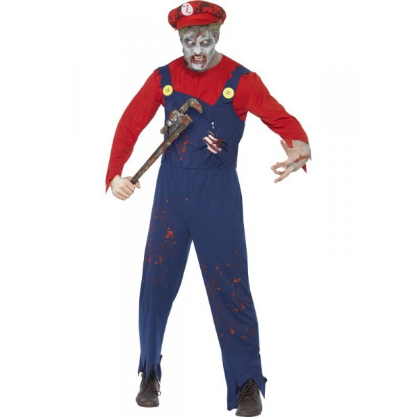 mario déguisement halloween zombie