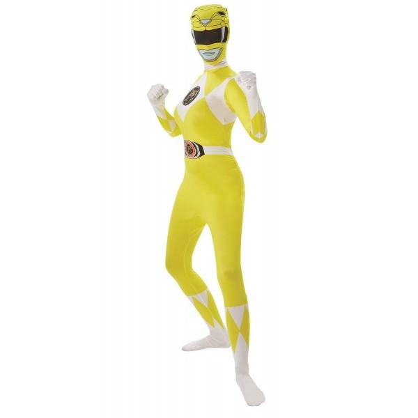 power rangere jaune soirée déguisée super héros