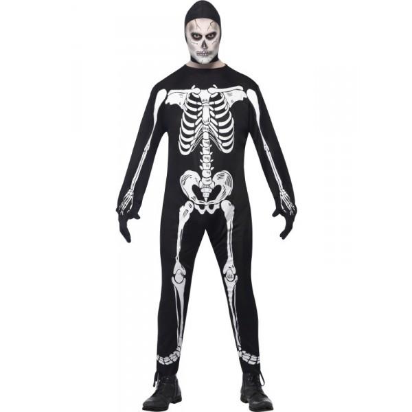 déguisement squelette adulte halloween pas cher homme