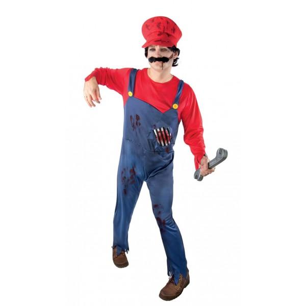 déguisement super mario zombie halloween pas cher