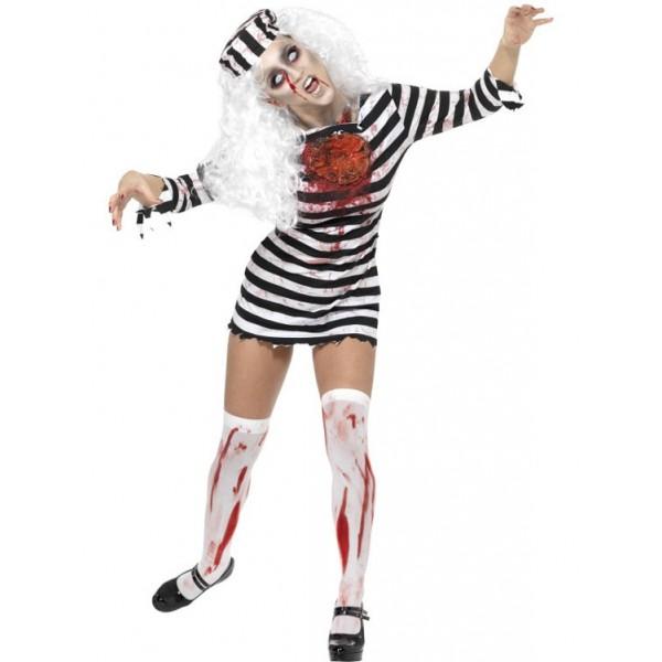 prisonnière déguisement halloween zombie