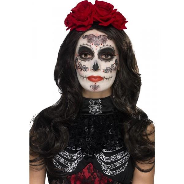 kit tatouage glamour santa muerte halloween