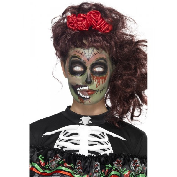 kit tatouage zombie santa muerte halloween