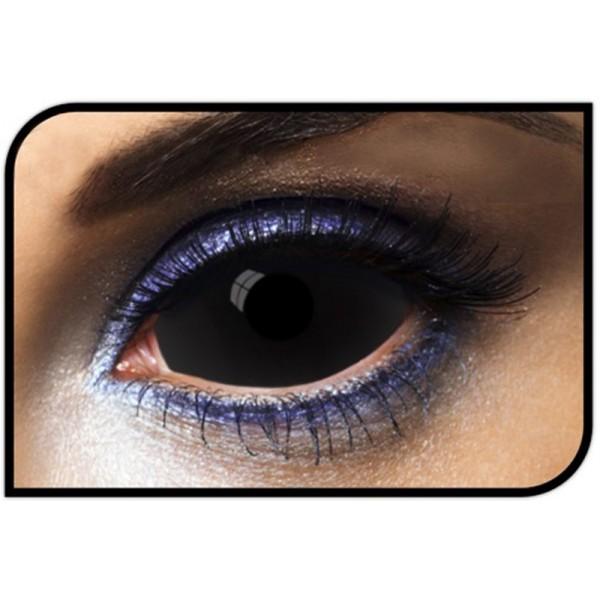 lentilles scléra noires
