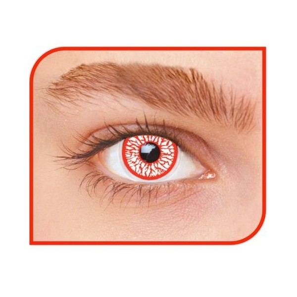 lentilles halloween yeux sanglants