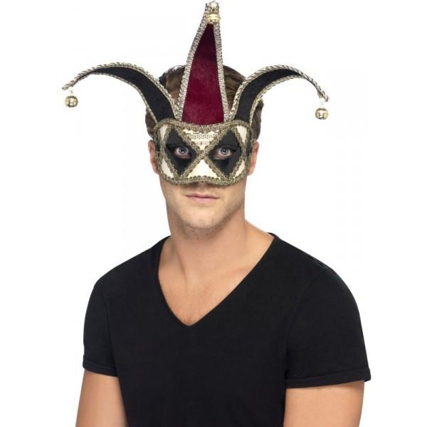 Masque arlequin de venise mixte homme