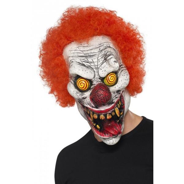 masque clown fou halloween