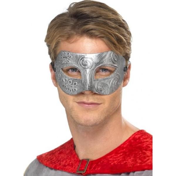 masque guerrier métal homme