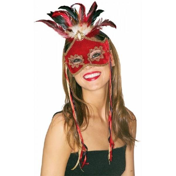 Masque oiseau de paradis femme carnaval