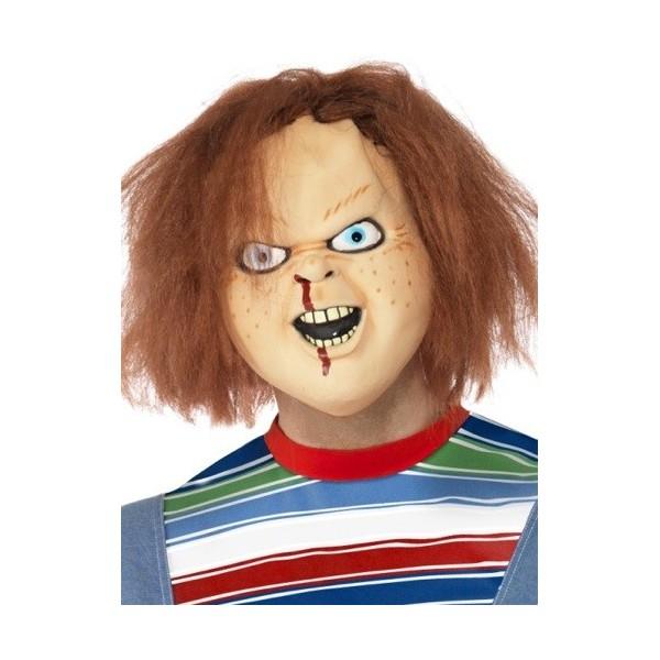 masque poupée chucky halloween