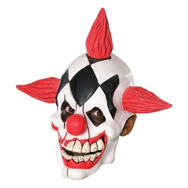 masque clown démon latex déguisement halloween pas cher