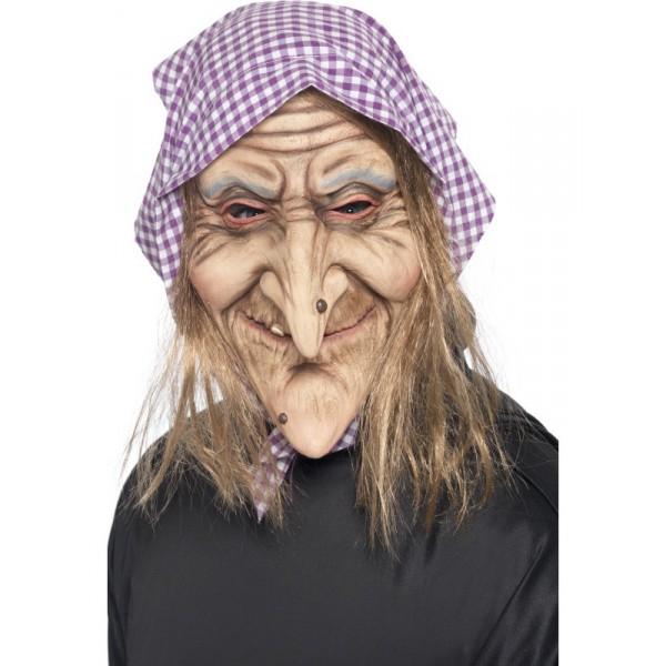 masque vieille sorcière