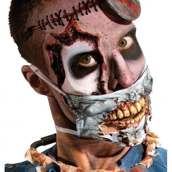 masque zombie décharné