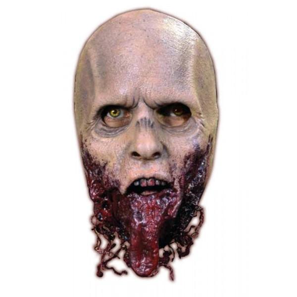 masque zombie mâchoire arrachée the walking dead halloween pas cher