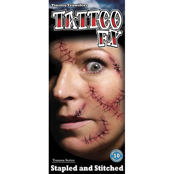 tatouage soins intensifs halloween pas cher