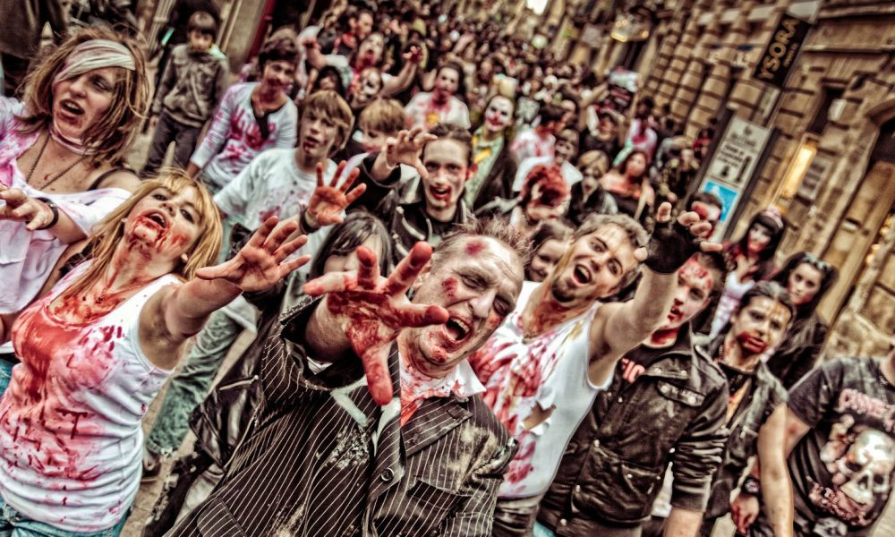 Zombie walk Bordeaux tendances halloween 2019