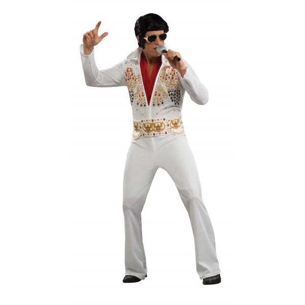 Déguisement blanc Elvis Presley déguisement personnage célèbre facile