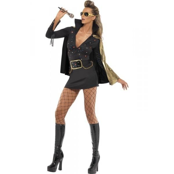 Déguisement femme Elvis Presley déguisement personnage célèbre facile
