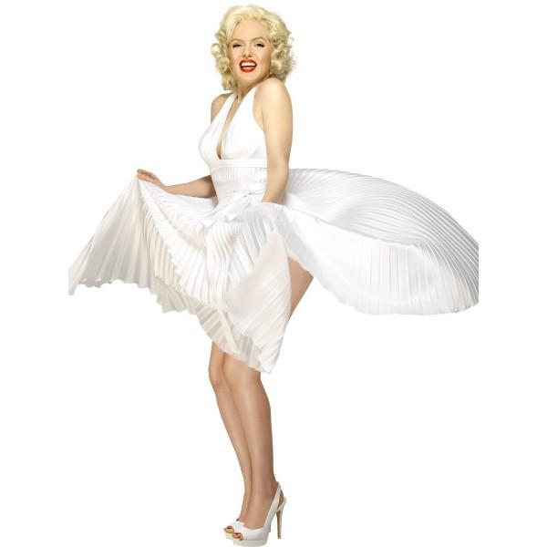 Robe Marilyn Monroe déguisement personnage célèbre facile